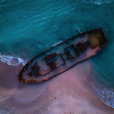 ספינה טרופה חוף הבנים