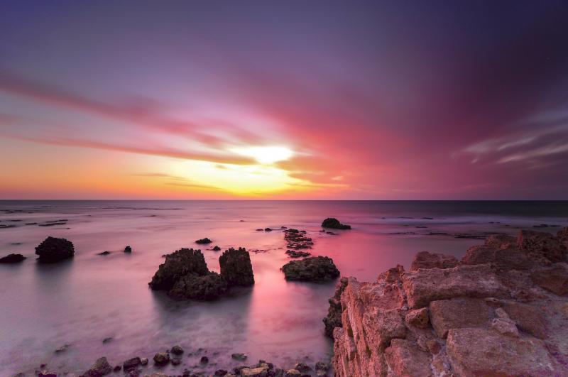 חוף ים, שמורת אפולוניה, הרצליה