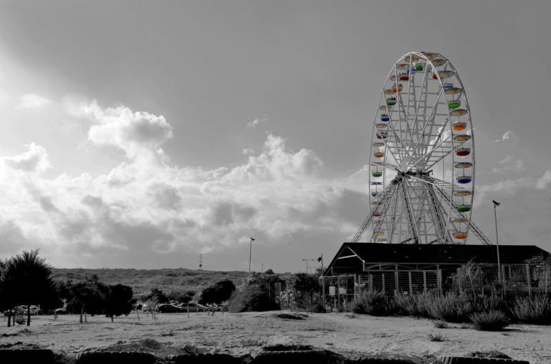 הגלגל הענק מבט מחוץ לסופרלנד