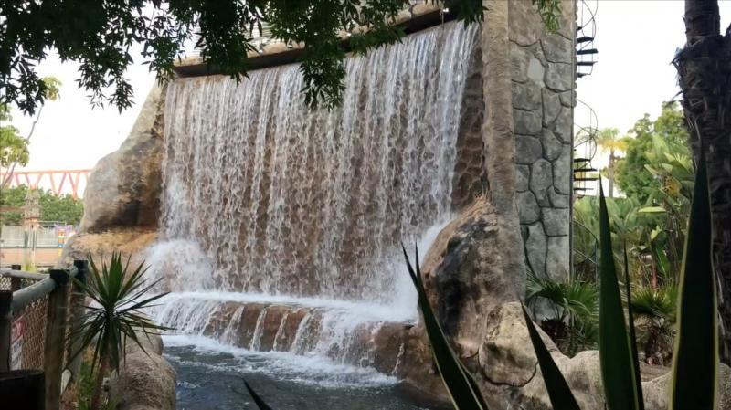 אחד ממפלי המים