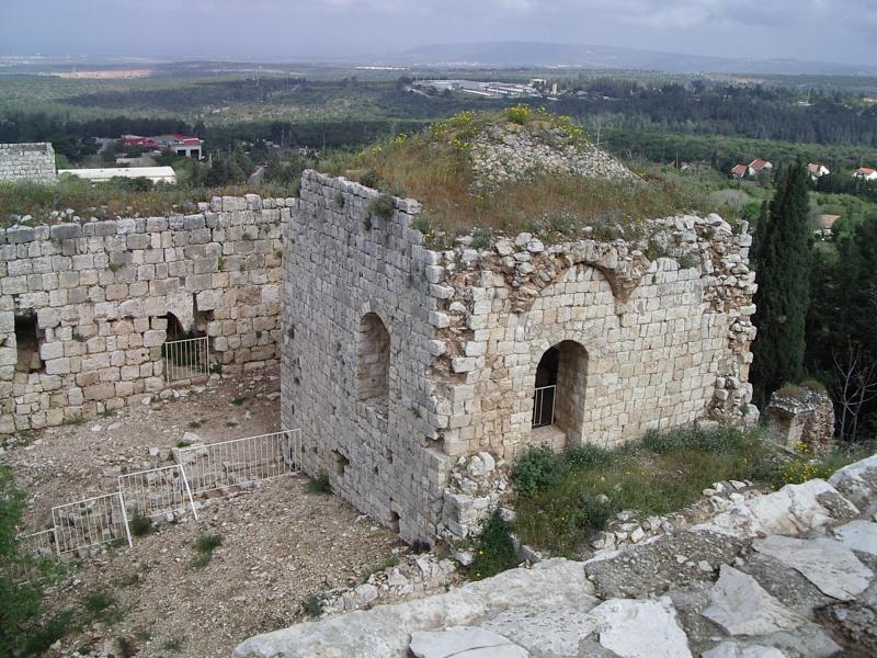 מבנה במבצר יחיעם