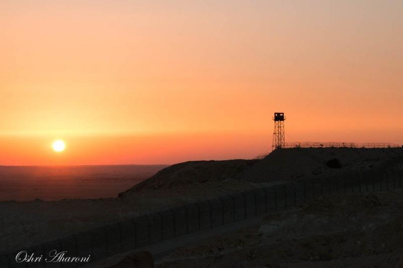 גבול ישראל מצרים אזור חמוקי ניצנה