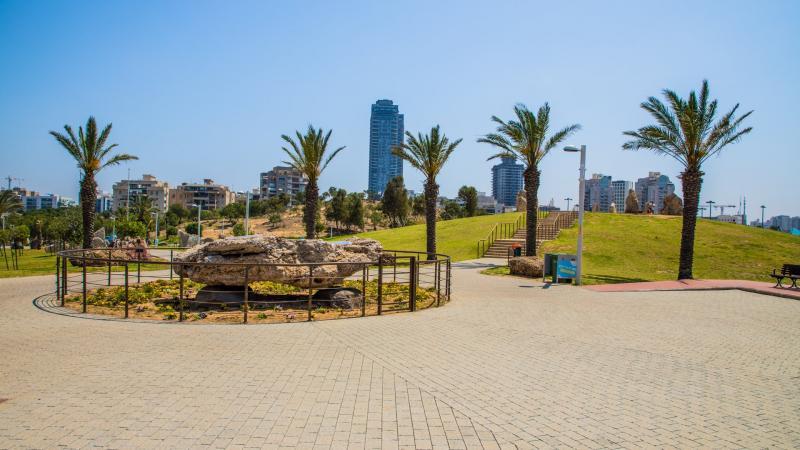 רחבה בפארק אשדוד ים