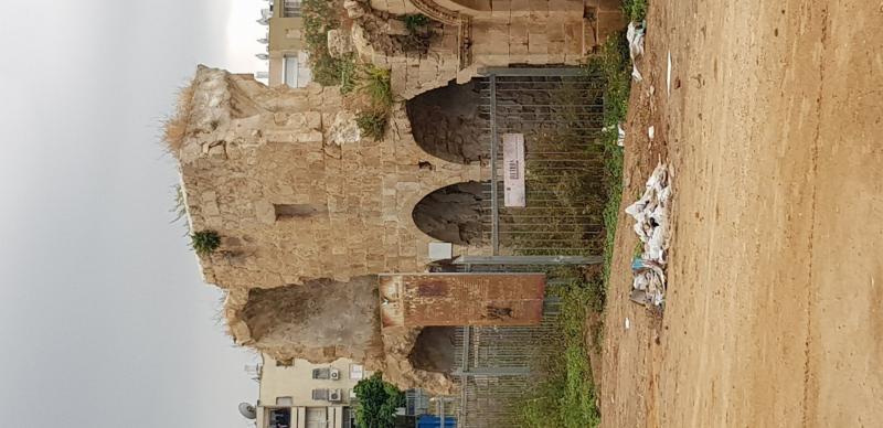 מבנה עתיק בלוד