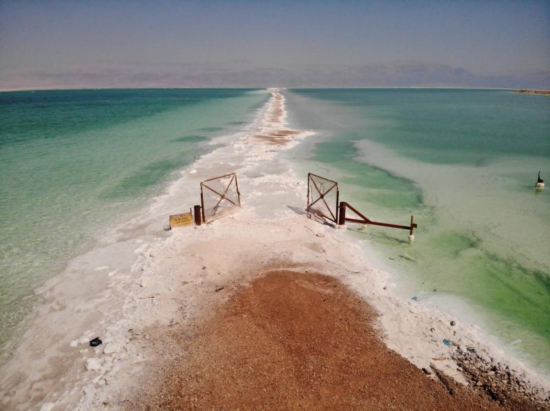 השער החלוד ים המלח