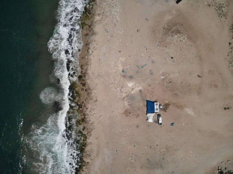חוף תחנת הכוח אשדוד