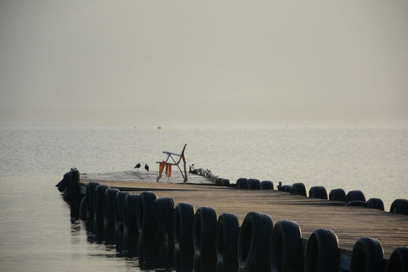 כיסא מחכה לדייג