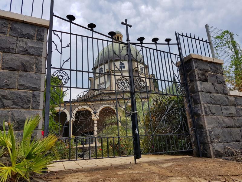 כנסיית הר האושר  מנזר הביאטיטודים