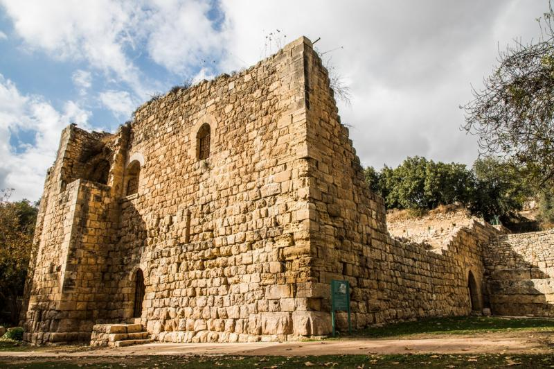 מבצר צלבני בעין חמד