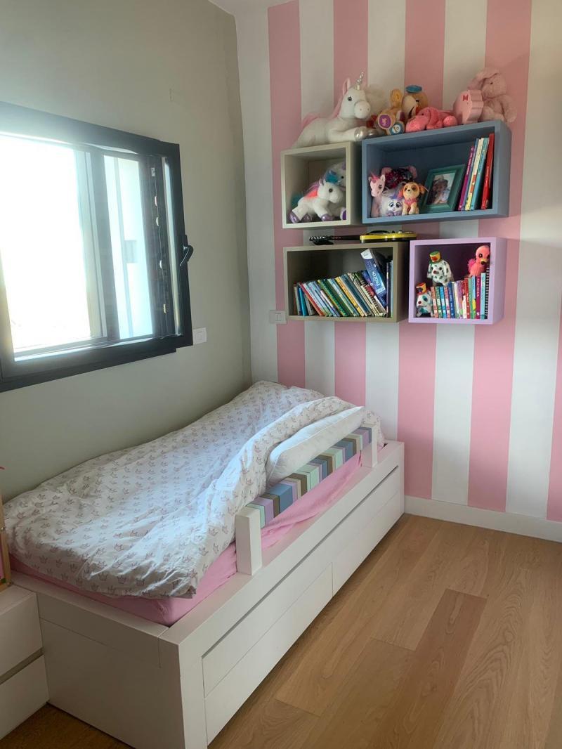 חדר מעוצב של ילדה